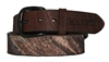 Mossy Oak Brown Leather Case IH Belt