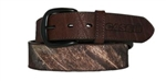Kid's Brown/MossyOak Camo Belt w/Case IH Logo