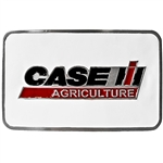 CASE IH WHITE RECTANGLE BELT BUCKLE