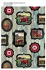 Farmall Hometown Life frames Cotton Fabric