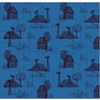 Farmall Folk Toile - Blue