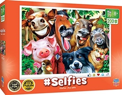 #Selfies Farm Animals 200 Piece Puzzle