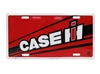 Case IH Logo Red License Plate