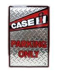"Case IH 18"" Parking Only Metal Sign"