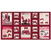 Farmall Show Ads Fabric