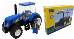 NH TS6 Tractor with Flatbed - Building Block Set