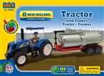 New Holland Tractor & Tanker Trailer Block Set