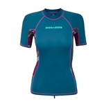 Sea-Doo Women Exotic Short Sleeve Rashguard