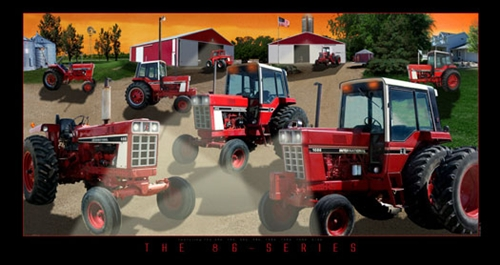 International Harvester 86 Series Lighted Picture