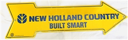 """New Holland Country"" Arrow Tin Sign"