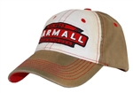 Farmall Distressed Tea-Stained Logo Cap