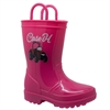 PVC Light-Up Boots - Pink/Children's