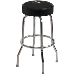 "30"" Swivel Bar Stool with International Harvester"