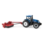 1/64 New Holland T6.175 MFD w/H7230 Discbine