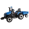 New Holland T8 Battery Operated Ride On w/Trailer