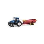 1:64 New Holland T6.165 Tractor with V-Tank Spreader