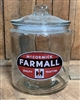 Farmall Counter Top Jar