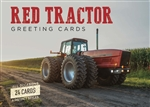 Red Tractor Greeting Cards
