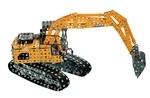 Case Excavator Tronico Metal Construction Kit