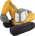 Case Excavator Plush Toy