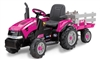 PINK Case IH Magnum & Trailer 12 VOLT Battery Operated Ride-On