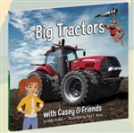 Big Red Tractors with Casey & Friends! Hardcover Book
