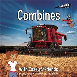 Combines with Casey and Friends Case IH Kids Book