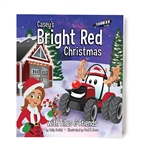 Bright Red Christmas w/Casey & Tillus Book