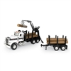 1/16th Big Farm Log Truck w/Pup Trailer and Logs