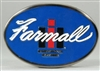 Farmall/IH Logo Blue Enamel Buckle