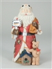 1st In Series Case Construction 9 Inch Santa Claus