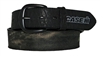 Mossy Oak Black Leather Case IH Belt