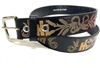 IH Black Genuine Leather Belt