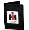 IH BLACK NYLON TRIFOLD WALLET