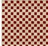 Farmall Hometown Life Check - Red Cotton Fabric