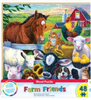 Wood Fun Facts of Farm Friends - 48 Piece