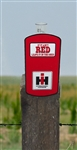 "IH ""If It Ain't Red..."" Rain Gauge"