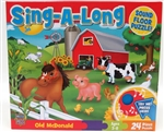 SING-A-LONG Sound Floor Puzzle 24pc `Old McDonald`