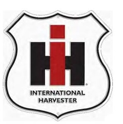"""IH International Harvester"" Route Tin Sign"