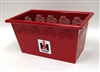 IH Red Rectangular Planter