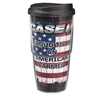 Case IH  Patriotic 24 Oz Travel Tumbler W/Lid
