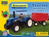 New Holland Tractor & Hay Baler Block Set