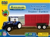 New Holland Tractor & Grain Trailer Block Set