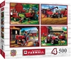 Farmall 4-Pack Puzzle 4-500 Piece Puzzles Included