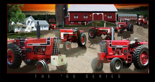 International harvester 66 series lighted picture for International harvester wall decor