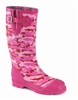 "Case IH ""Very Pink Camo""Ladies Boot with Case IH Logo"