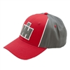 IH Grery and Red Patch Logo Cap