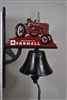 Farmall Tractor Bell with Bracket