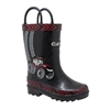 Big Red, 3D Black Rubber Boot