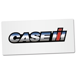 Case IH Bumper Sticker White